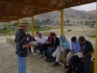 teaching in Jericho
